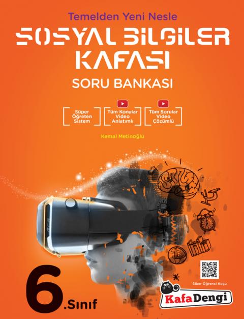6.Sınıf Sosyal Bilgiler Kafası Soru Bankası  - Kafadengi