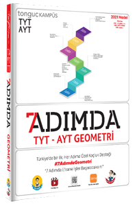 7 Adımda TYT-AYT Geometri Soru Bankası - Tonguç