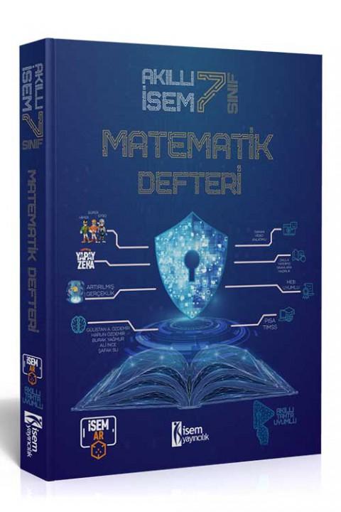 7. Sınıf Akıllı İsem Matematik Defteri  - İsem