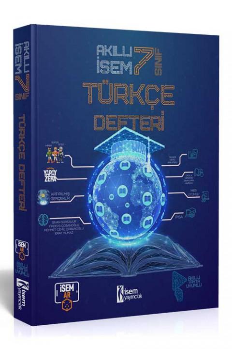 7. Sınıf Akıllı İsem Türkçe Defteri  - İsem