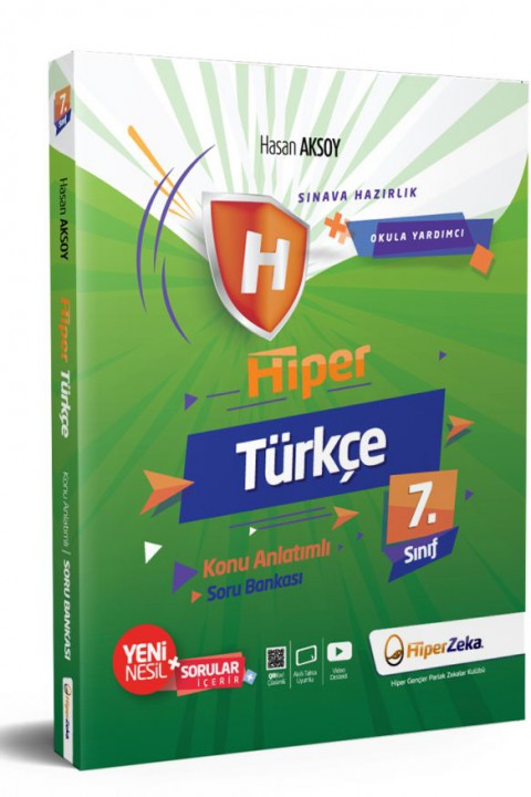 7. Sınıf Hiper Türkçe Konu Anlatımlı & Soru Bankası - Hiper Zeka