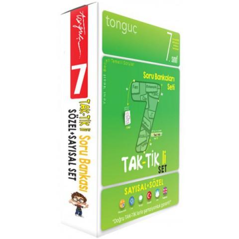 7. Sınıf Taktikli Tüm Dersler Soru Bankası Seti - Tonguç