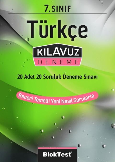 7.Sınıf Bloktest Türkçe Kılavuz Deneme Bloktest - Tudem