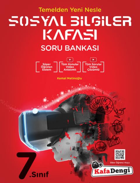 7.Sınıf Sosyal Bilgileri Kafası Soru Bankası  - Kafadengi