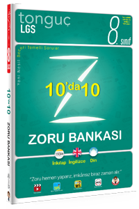 8. Sınıf 10'da 10 Zoru Bankası - Tonguç