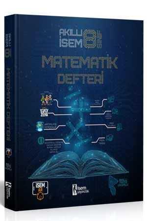 8. Sınıf Akıllı İsem Matematik Defteri  - İsem