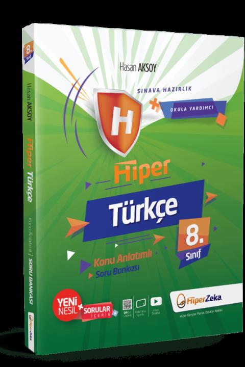 8. Sınıf Hiper Türkçe Konu Anlatımlı & Soru Bankası - Hiper Zeka