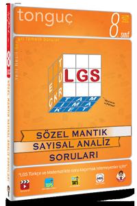 8. Sınıf LGS Sözel Mantık Sayısal Analiz Soruları - Tonguç