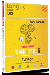 8. Sınıf Türkçe Taktikli Soru Bankası - Tonguç