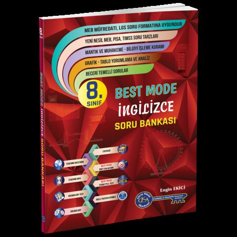 8.Sınıf Best Mode İngilizce Soru Bankası - Gür