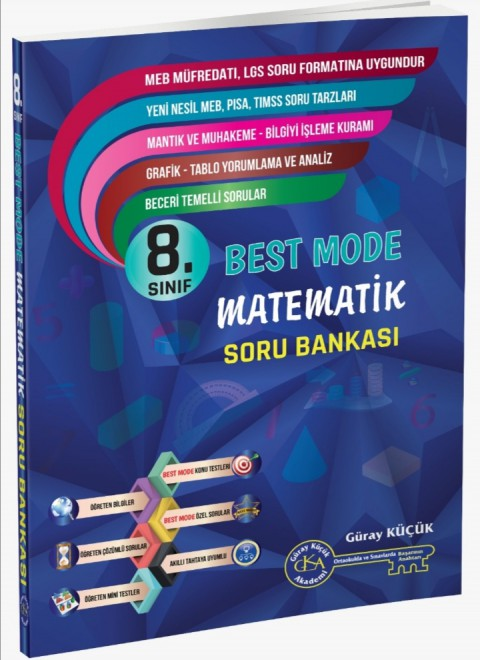 8.Sınıf Best Mode Matematik Soru Bankası - Gür