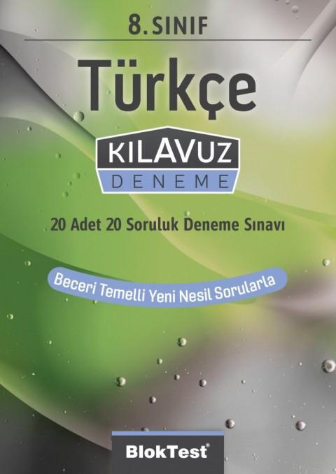 8.Sınıf Bloktest Türkçe Kılavuz Deneme Bloktest - Tudem