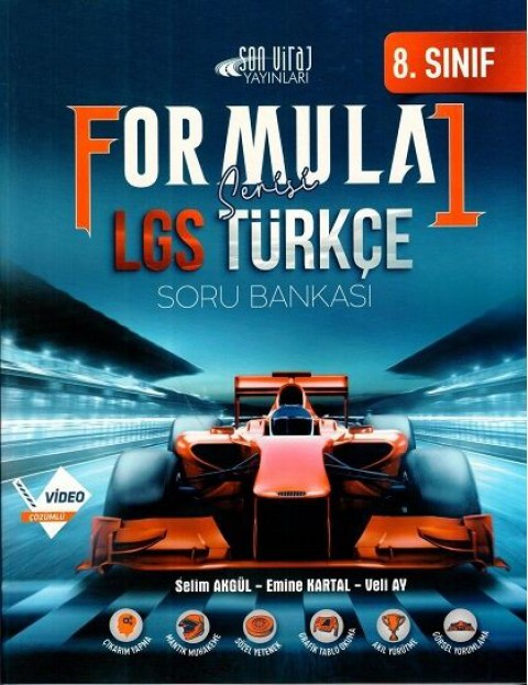 8.Sınıf Formula Türkçe Soru Bankası - Son Viraj