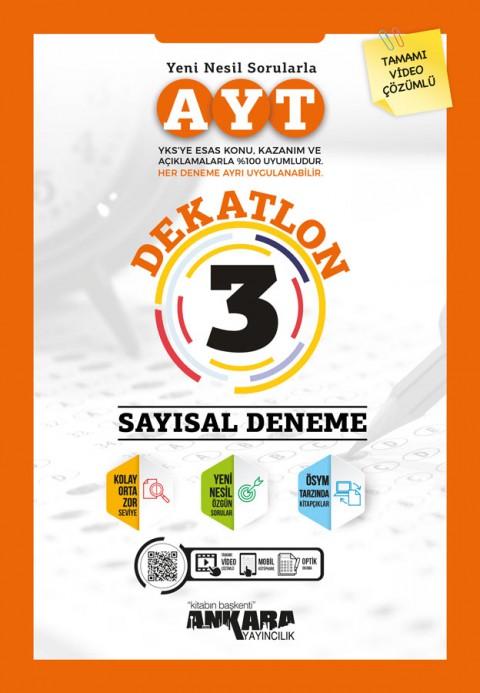 AYT Dekatlon Sayısal 3 Deneme - Ankara