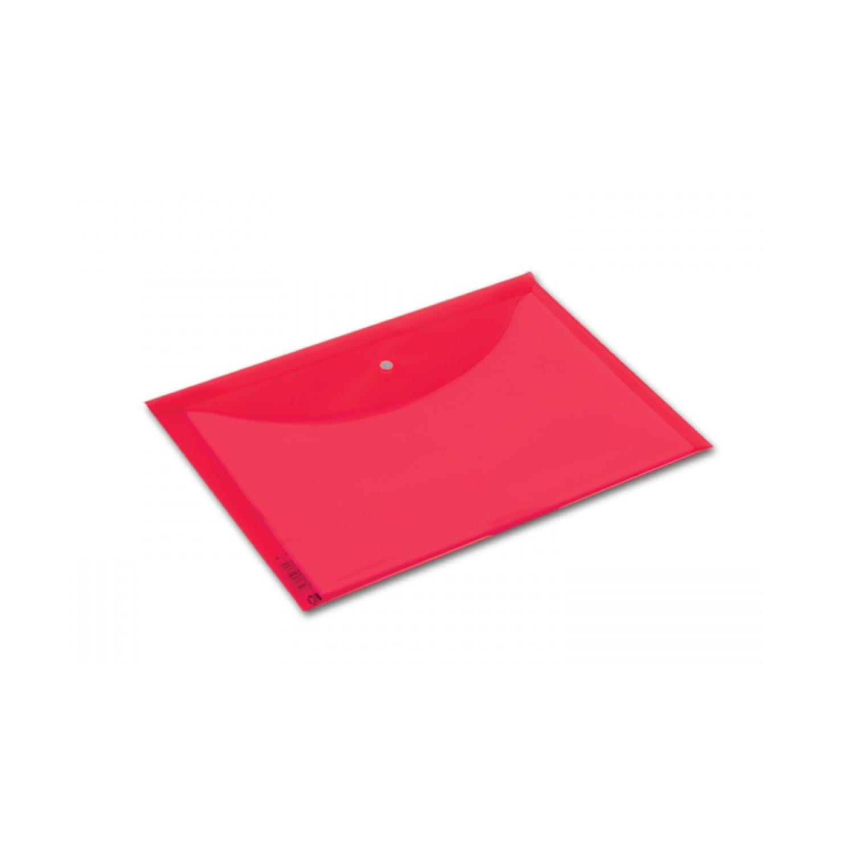 Abka A4 Kırmızı Çıtçıtlı Dosya