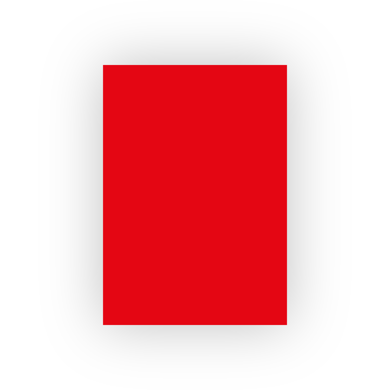 Adel 50x70 100lü Kırmızı Fon Kartonu (100'lü paket)