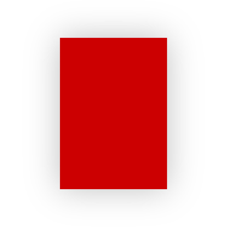 Adel 50x70 100lü Koyu Kırmızı Fon Kartonu (100'lü paket)