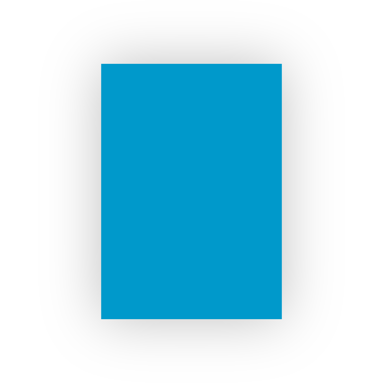 Adel 50x70 100lü Koyu Mavi Fon Kartonu (100'lü paket)