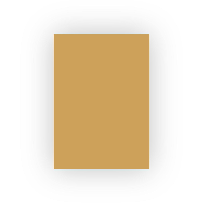 Adel 50x70 100lü Mat Turuncu Fon Kartonu (100'lü paket)