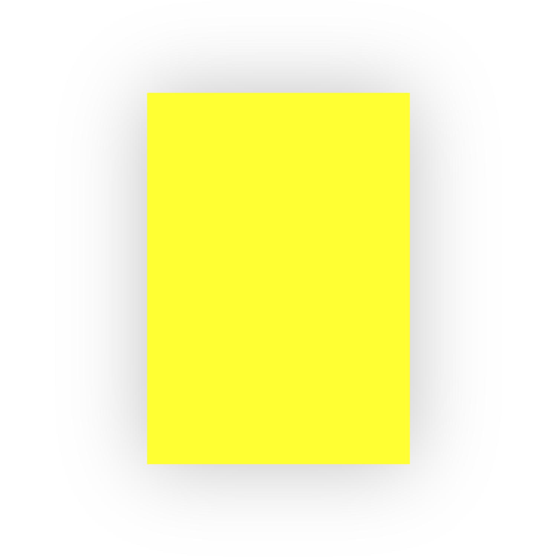 Adel 50x70 100lü Sarı Fon Kartonu (100lü paket)