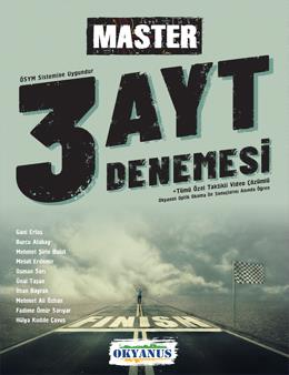Ayt Master 3 Deneme - Okyanus