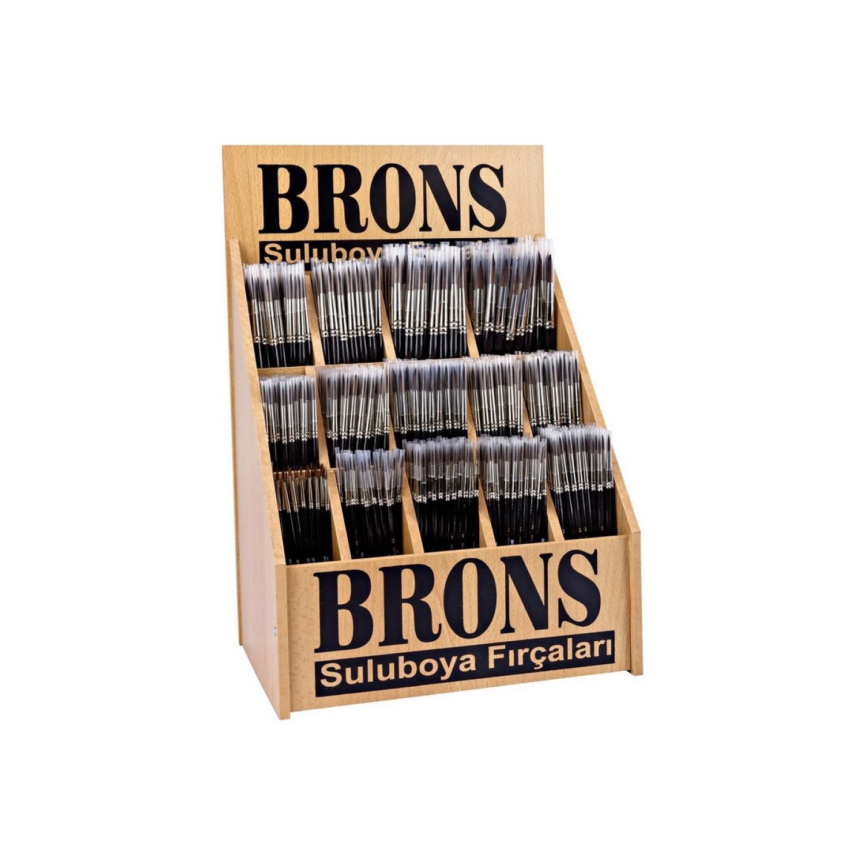 Brons Stand Resim Fırçası