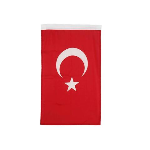 Buket 200x300 Alpaka Kumaş Türk Bayrağı
