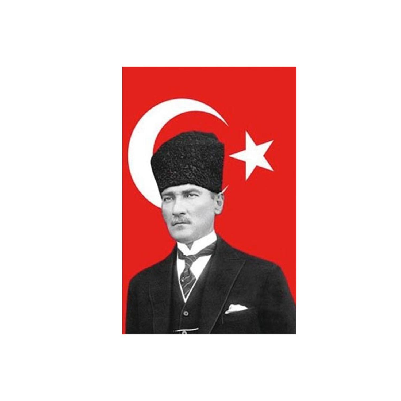 Buket 70x105 Cm Atatürklü Bayrak