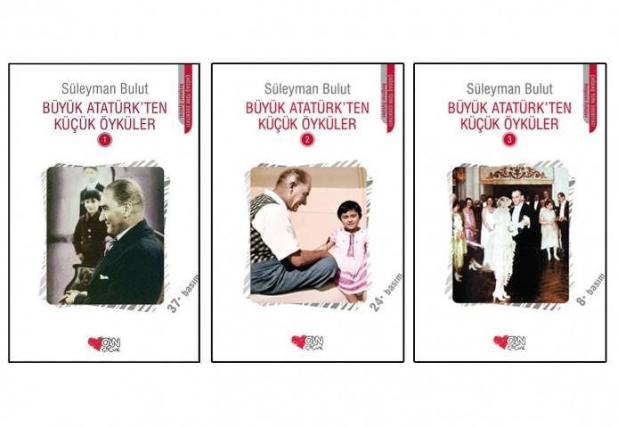 Büyük Atatürk'ten Küçük Öyküler 3 Kitap Set