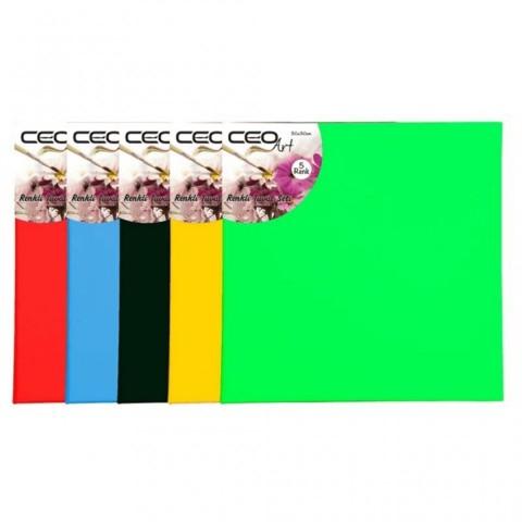 Ceo Art 40x40cm Renkli Tuval Adet Sarı