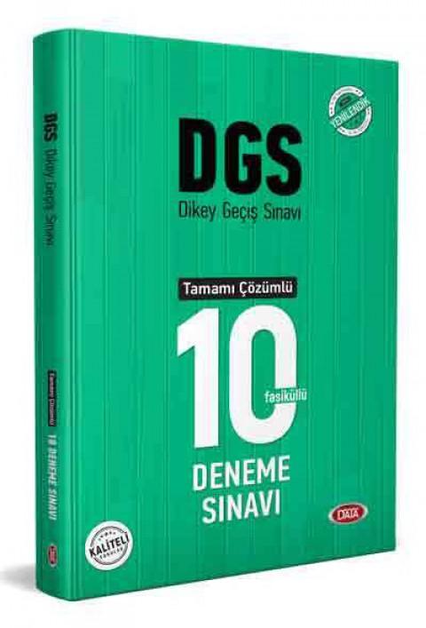 DGS Çözümlü 10 Deneme Sınavı  - Data
