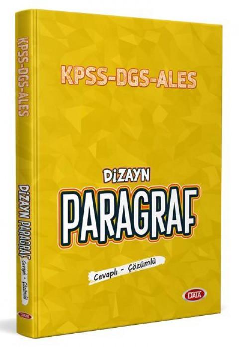 Dizayn Paragraf KPSS-DGS-ALES - Data