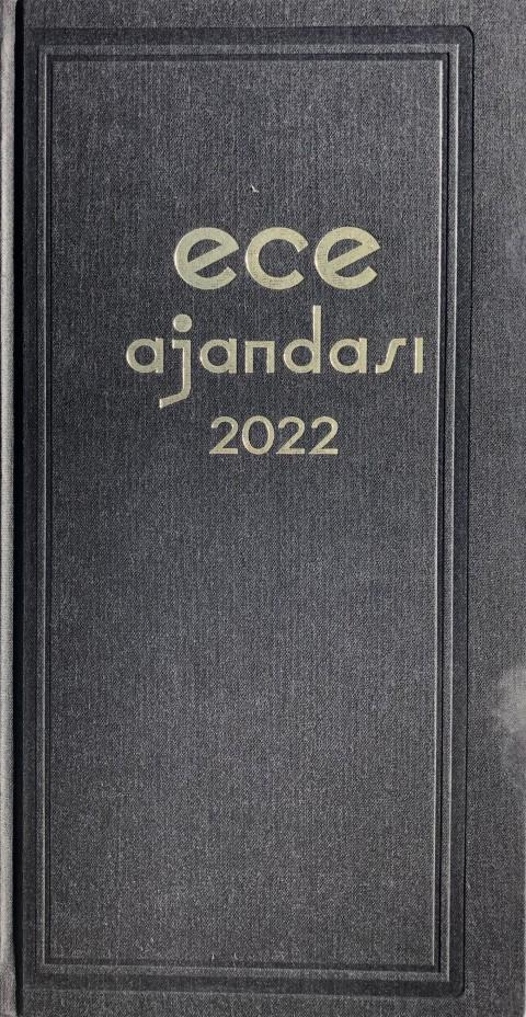 2022 Ece Ajandası 17*33 Asya