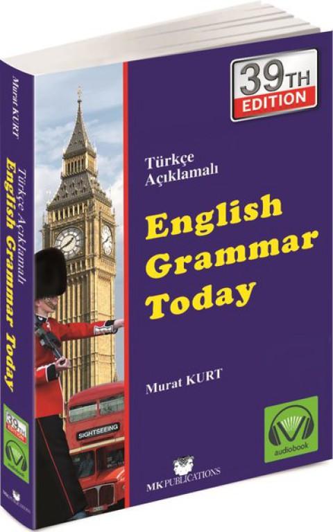 English Grammar Today Türkçe Açıklamalı İngilizce Gramer - Murat Kurt