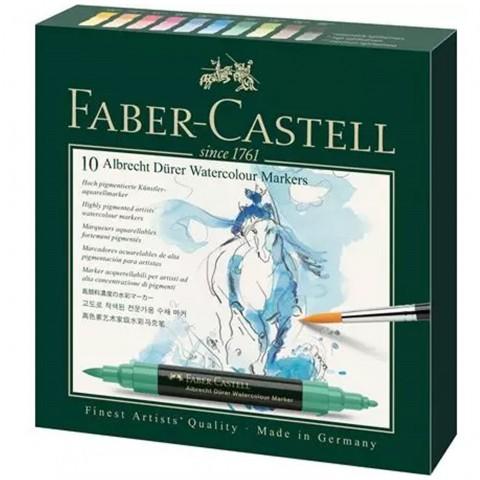 Faber Castell Albrecht Dürer Watercolour Markers 10 Renk Suluboya Markörü