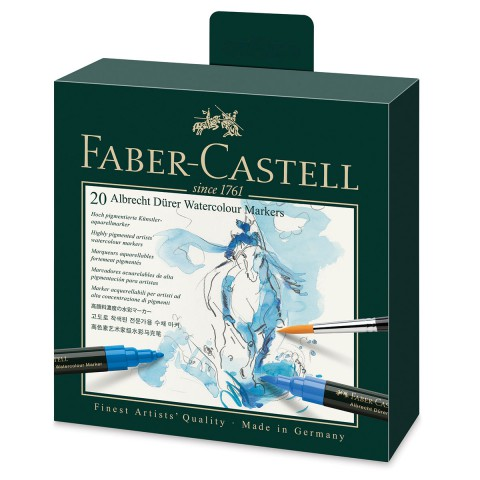 Faber Castell Albrecht Dürer Watercolour Markers 20 Renk Suluboya Markörü