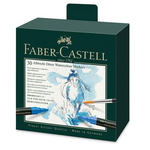 Faber Castell Albrecht Dürer Watercolour Markers 30 Renk Suluboya Markörü