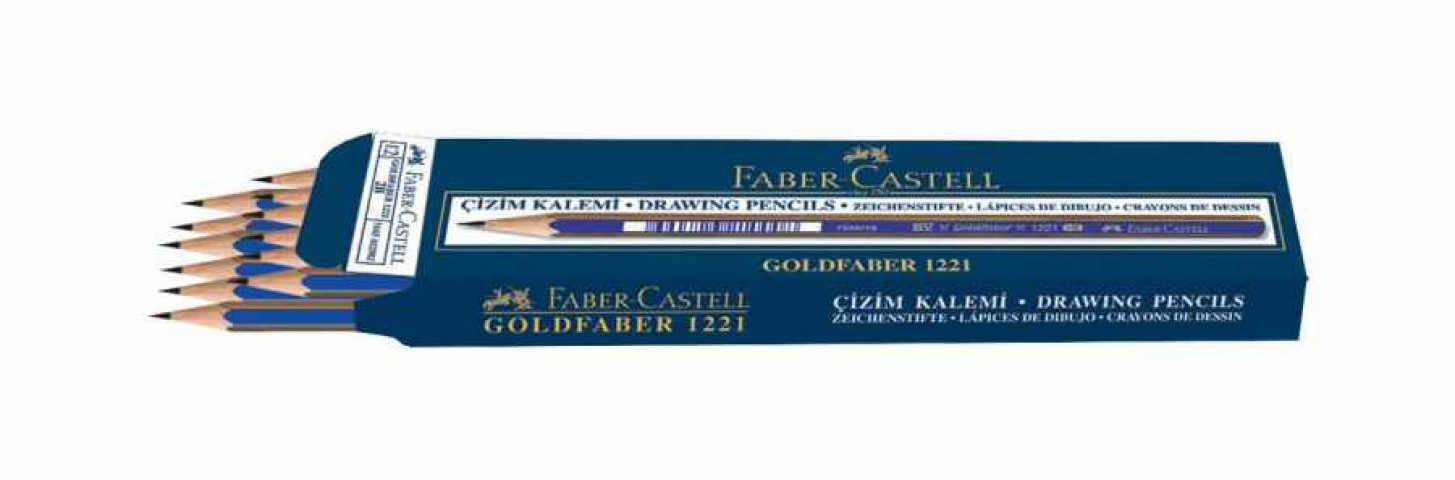 Faber Castell Goldfaber 4h 12 Li Dereceli Kurşun Kalem