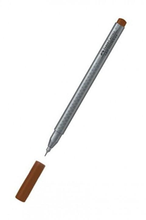 Faber Castell Grip Finepen 0.4Mm, Açık Kahve