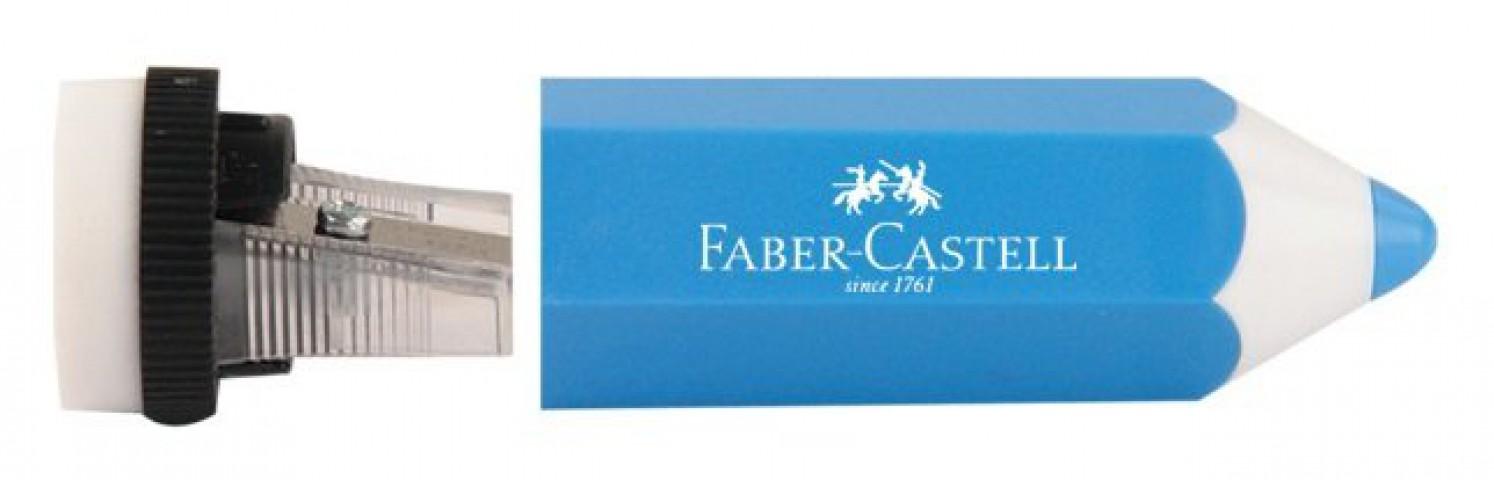 Faber Castell Kalem Şekilli Kalemtraş Mavi