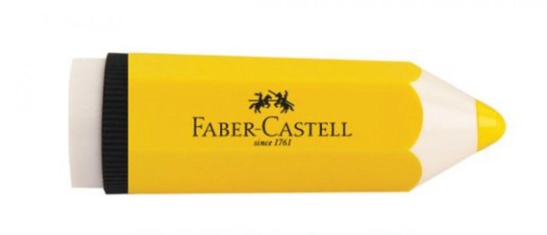 Faber Castell Kalem Şekilli Kalemtraş Sarı