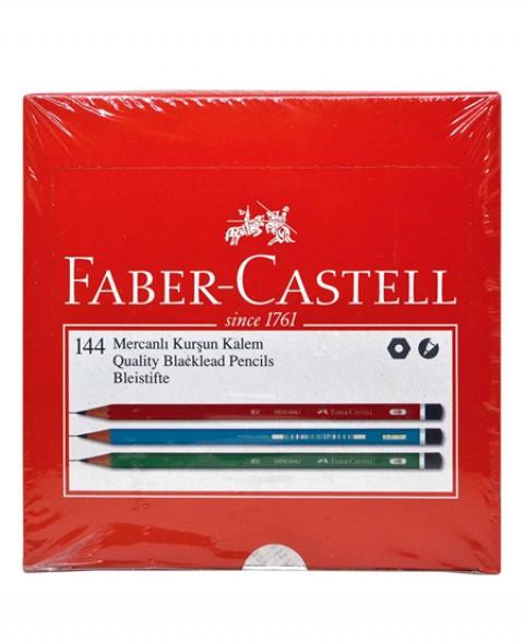 Faber Castell Mercanlı Kurşun Kalem 2B 144'lü