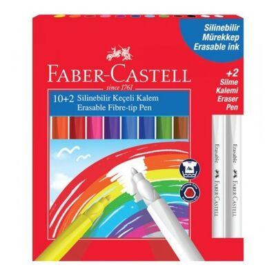 Faber-Castell Silinebilir Keçeli Kalem 12R