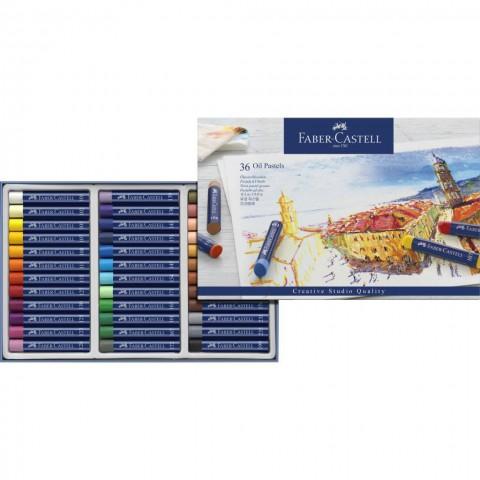 Faber Creative Studio Yağlı Pastel Boya 36 Renk Kutu