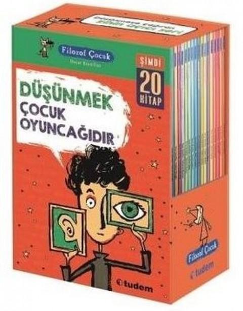 Filozof Çocuk Seti 20 Kitap Set - Oscar Brenifier