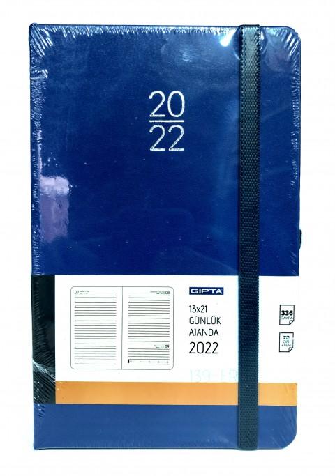 Gıpta 2022 13x21 Günlük Ajanda Lacivert