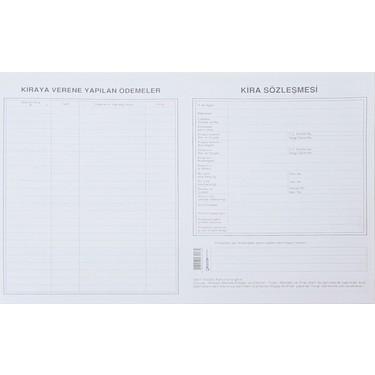 Gürpaş 28.5*41 Kira Kontrat Kağıdı 100'lü(013) Adet
