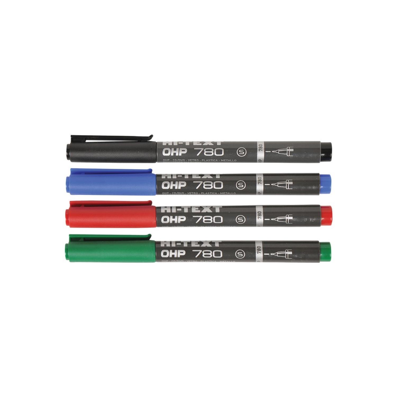 Hı-text (s) Siyah Asetat Kalemi