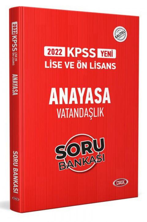 KPSS Lise Ve Ön Lisans Anayasa Vatandaşlık Soru Bankası 2022 - Data