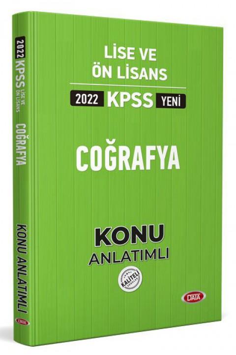 KPSS Lise Ve Ön Lisans Coğrafya Konu Kitabı 2022 - Data